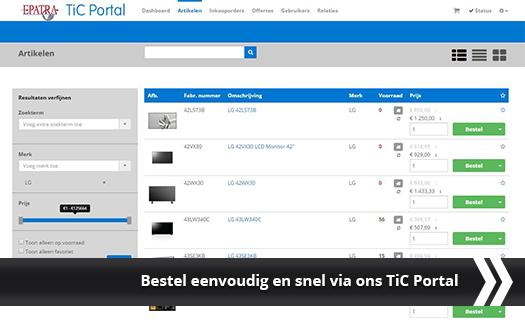 Epatra TiC Portal
