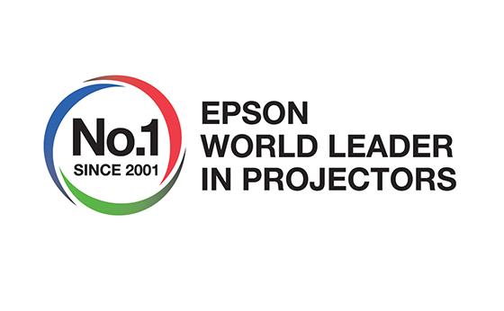 Epson voor het 15e achtereenvolgende jaar benoemd tot 's werelds nummer 1 projectorfabrikant