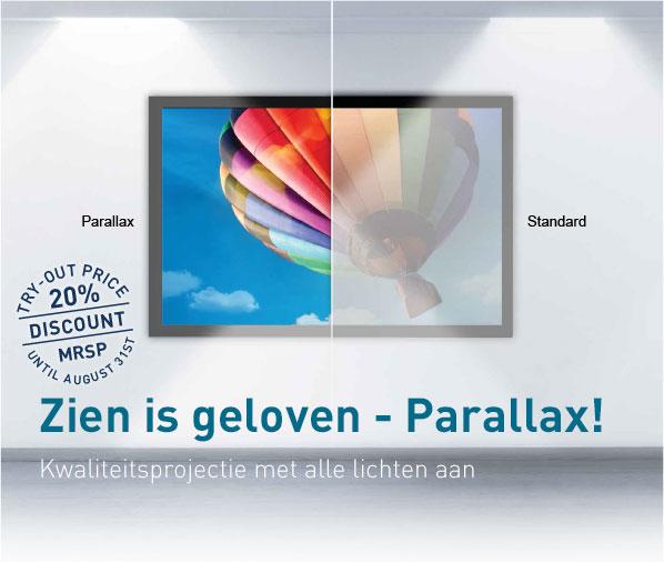 Zien is geloven – Parallax!