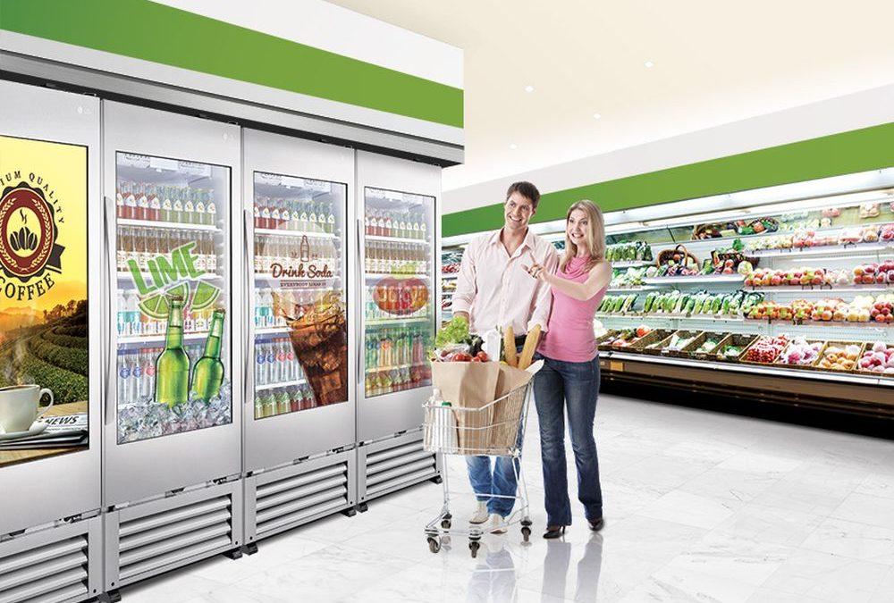 Nieuw: LG transparante koeler 49WEC