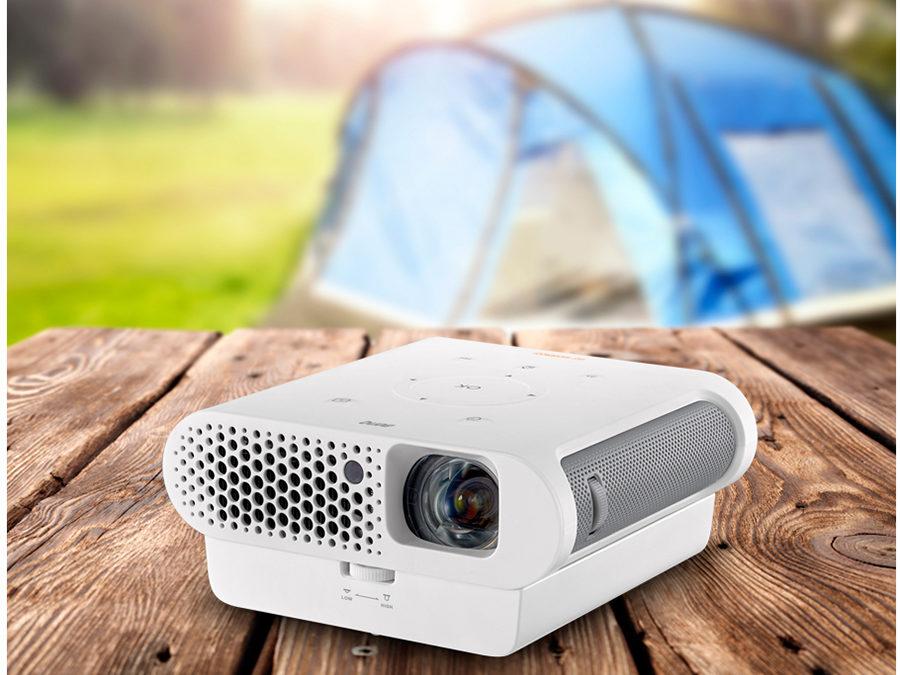 BenQ GS1 beamer voor camper of caravan