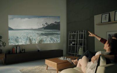 Nieuwe LG Minibeams projecteren films en games op ieder oppervlak