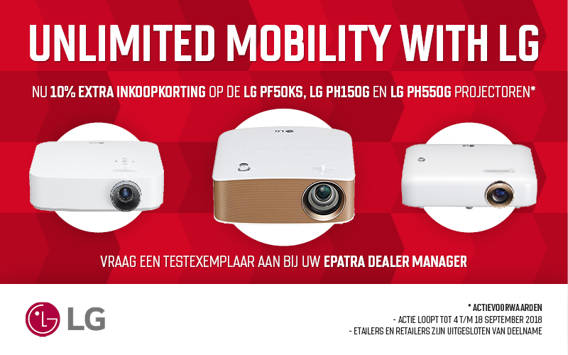 Unlimited mobility with LG
